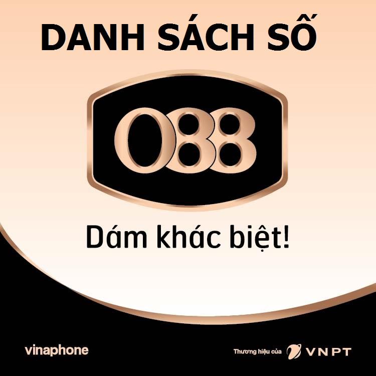 vinaphone 088 , danh sach so vinaphone 088, kho so vinaphone 088